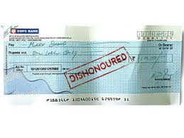 bounced cheque sample