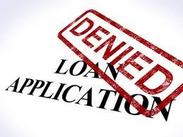 declined loan application